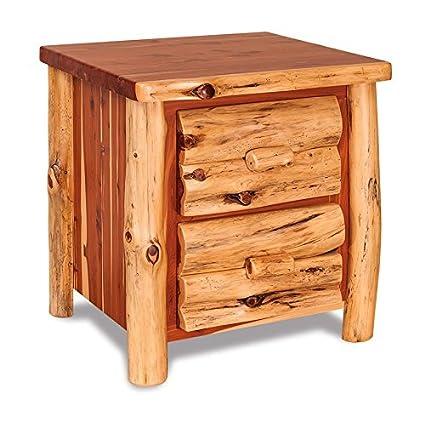 Amazon com: DutchCrafters American Made Rustic Log Night