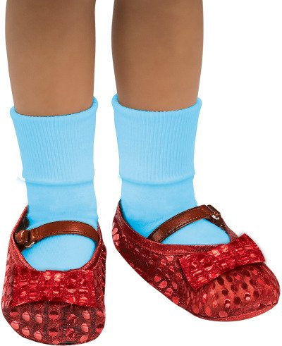 Girls Dorothy Wig (Wizard of Oz Dorothy Sequin Shoes Covers, 75th Anniversary Edition)