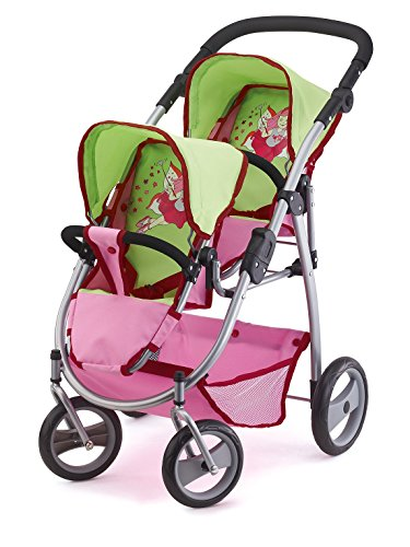 Bayer Design 2654500 Twin Dolls Pram for sale  Delivered anywhere in USA