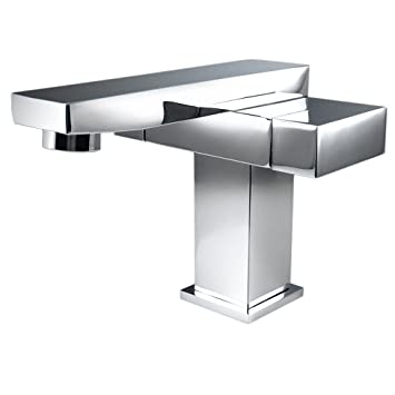 Fresca Bath FFT1051CH Orba Single Hole Mount Bathroom Vanity Faucet ...