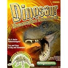 Dinosaur Stegosaurus [With Digging Tools, Eye Goggles and Clay RockWith Brush] (Usborne Kid Kits) by Usborne Books (2007-06-01)