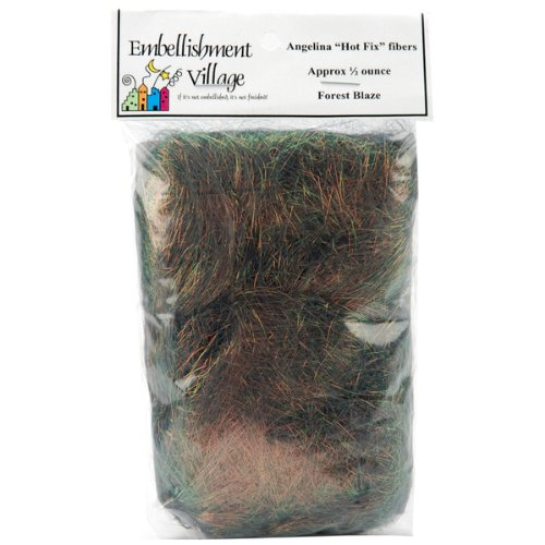 Angelina Straight Cut Fibers 1/2 Ounce-Forest Blaz 1 pcs sku# 651399MA