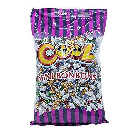Dulce Waren Cool Mini, Caramelos 1 kg Frutas Sort: Amazon.es: Oficina y papelería