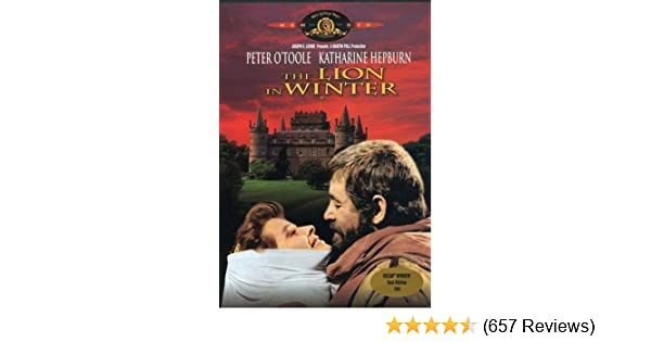 Amazoncom The Lion In Winter Peter Otoole Katharine Hepburn