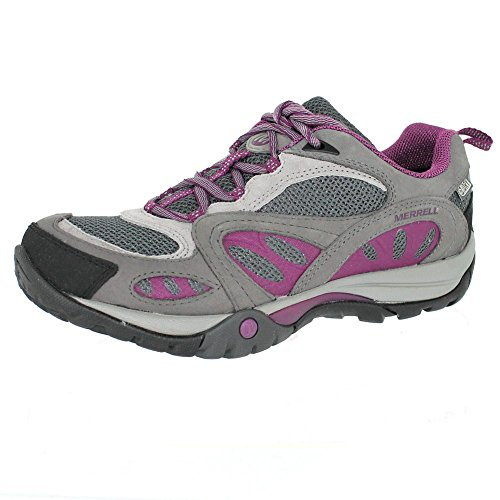Merrell Women's Azura Waterproof Shoes, Castle Rock/Purple, 7.5 M US by Merrell
