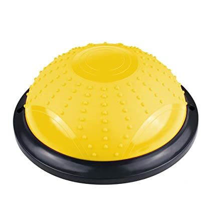 Amazon.com: Yoga Balance Ball, Bola Pilates Hemisphere Gym ...