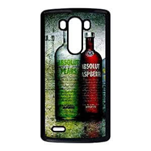 LG G3 Cell Phone Case Black Vodka Absolut BNY_6957796