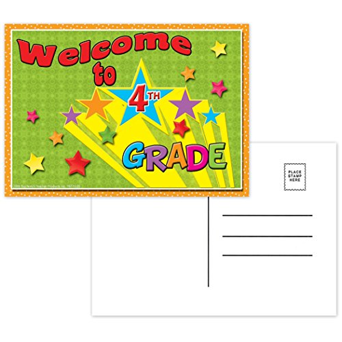 - Top Notch Teacher Products TOP5120 Welcome to 4th Grade Postcards, 4.2