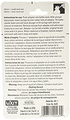 Lixit Corporation SLX0480 Small Animal Medicine Saver Syringe by TopDawg Pet Supply