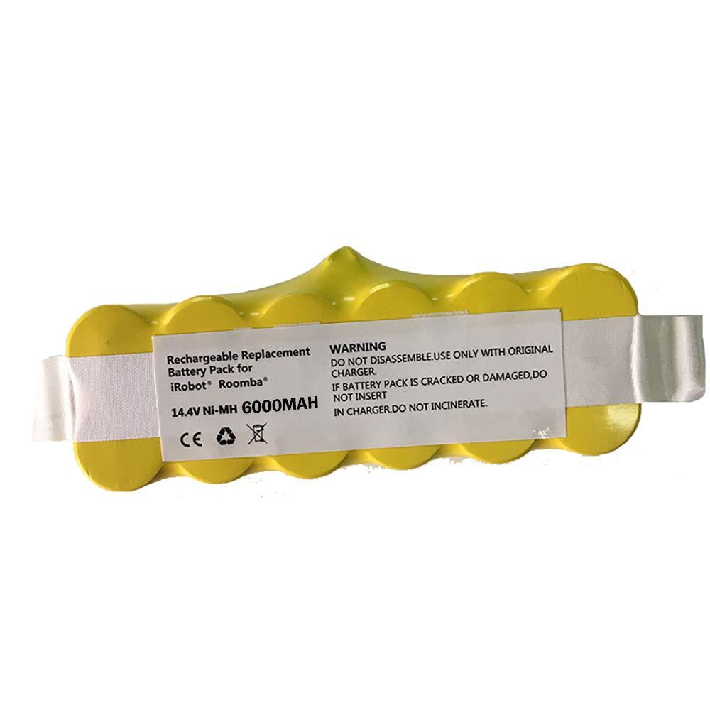 Batterie Batterie Haute Capacit/é 3500mAh 14.4 V pour iRobot Roomba Aspirateur 500 530 540 550 620 600 650 700 780 790 Walmeck