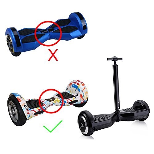 "Hoverboard Swegway Handle - Adjustable Handle for Smart Balance Board 6.5"" 10"" Strut Support Training Aid"