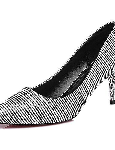 GGX/ Zapatos de mujer-Tacón Stiletto-Tacones-Tacones-Boda / Casual / Fiesta y Noche-Sintético-Negro , black-us8 / eu39 / uk6 / cn39 , black-us8 / eu39 / uk6 / cn39 black-us6.5-7 / eu37 / uk4.5-5 / cn37