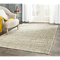 Safavieh Porcello Collection PRL7680A Grey and Dark Grey Area Rug (6 x 9)