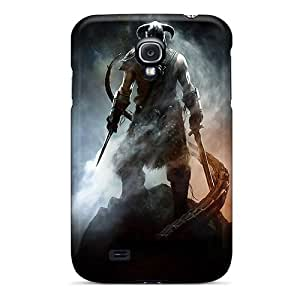 Protector Hard Cell-phone Case For Samsung Galaxy S4 (Opo11095RfDu) Provide Private Custom Trendy Skyrim Pictures