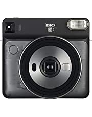 Fujifilm Instax Camera SQ6 Instant Camera with 1 Assorted Film and Planner, Graphite Gray