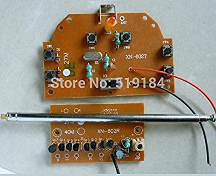 Buy Generic Six channel 27MHZ remote control toy car circuit board ...