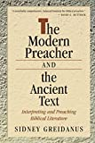 img - for The Modern Preacher and the Ancient Text: Interpreting and Preaching Biblical Literature (Relativism; 2) book / textbook / text book