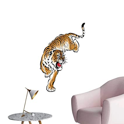 Amazon Com Tiger Wall Mural Wallpaper Stickers Japanese Inspired