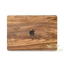 SopiGuard Oak Wood Grain Full Body Precision Edge-to-Edge Coverage Vinyl Skin 2016 Apple Macbook Pro 13 Touch Bar