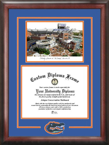 Campus Images ''University of Florida Spirit Graduate'' Frame with Campus Image, 11.5'' x 16''