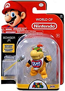 World Of Nintendo Bowser Jr With Paint Brush Action Figure 4