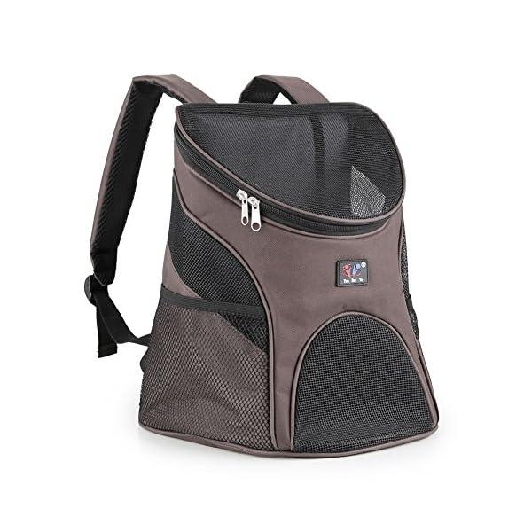 Dog-Cat-Pet-Soft-sided-Pet-Carrier-Dog-Backpack-Dog-Rear-Carrier-w-Mesh-Window