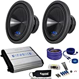 Alpine Two Type-S 12 Subwoofers & Hifonics ZXX-1200.1D ZEUS 1200 Watt Amplifier & Wiring Kit