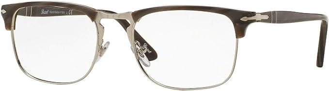 Persol PO8359V Eyeglasses 51-19-145 Dark Horn 1045 PO8359-V PO 8359-V