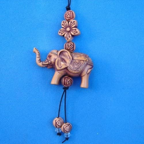 Feng Shui Chinese Small Elephant Charm as Cell Phone Lucky Charm