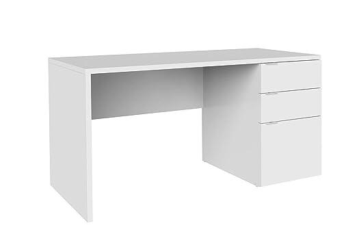 LIQUIDATODO ® - Mesa de escritorio moderna y barata de 3 cajones ...