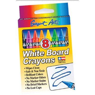 Sargent Art White Board Crayons Reg [Set of 4]]()
