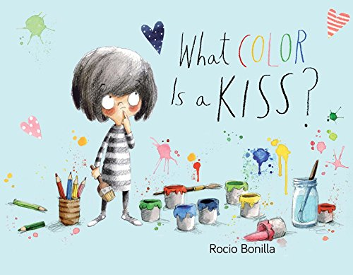 What Color Is a Kiss is a cheerful read that will make you smile and laugh with Monica as she tries to figure out what color a kiss should be.