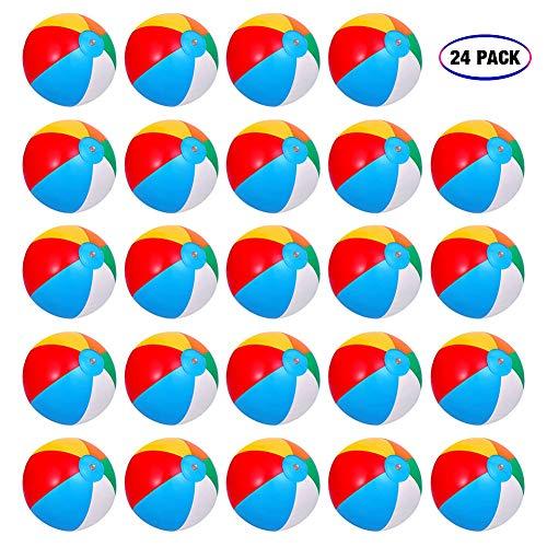 Inflatable Beach Balls[24PACK] 10