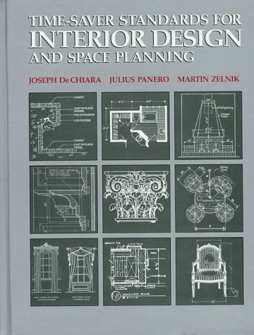 - Time-Saver Standards for Interior Design and Space Planning