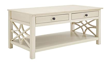 Whitley Coffee Table In Antique White