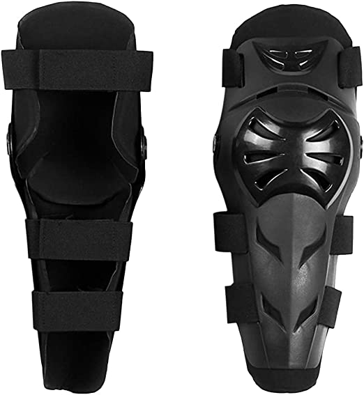 Walmeck Motorcycle Knee Guard Cycling Riding Knee Protector Cap Skating Scootering Shin Guard Braces for Kids