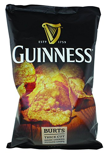 Burts Thick Cut Guinness Flavoured Hand Cooked Potato Chips, 150g Bag