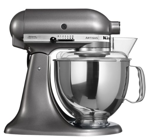 KitchenAid Artisan - Color plata metalizado
