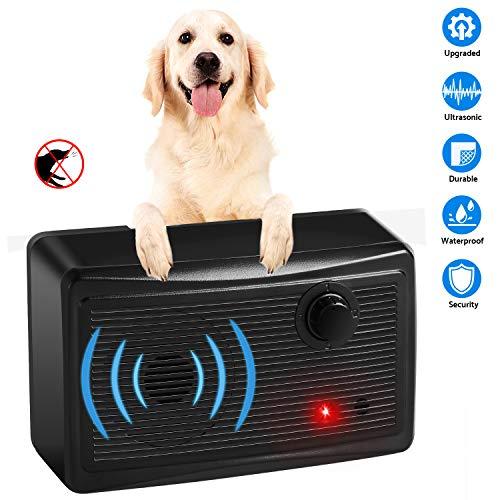 Hodekt Dogs Bark Control Device Upgraded, Ultrasonic Anti Bark Indoor Outdoor Sonic Bark Deterrents Pro Silence Bark Stop Anti-Barking Repeller