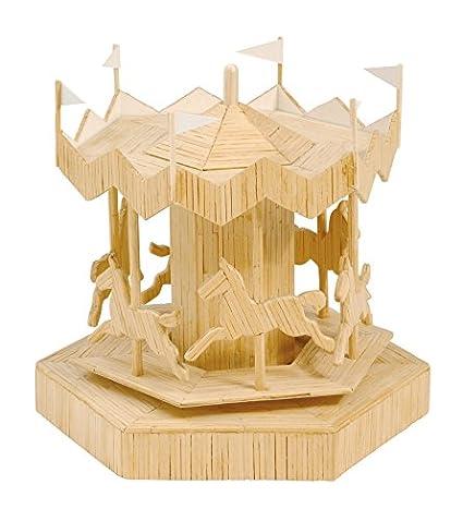Creallumet-Maqueta Carrusel de los caballos-KSG de madera ...