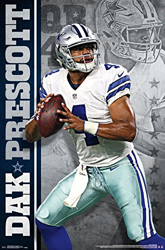 trends-international-rp13939-wall-poster-dallas-cowboys-dak-prescott22375-x-34