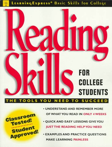 Reading Skills for College Students (Learningexpress Basic Skills for College)