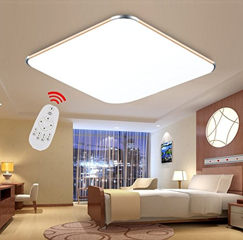 sailun 36w dimmbar ultraslim led deckenleuchte modern deckenlampe ... - Lampe Schlafzimmer Modern
