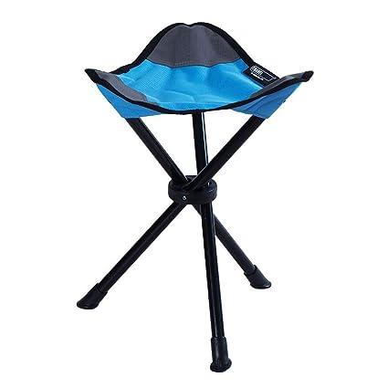 Astounding Amazon Com Folding Tripod Stool Tall Slacker Chair Armless Ocoug Best Dining Table And Chair Ideas Images Ocougorg