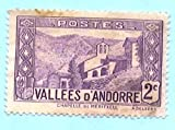 Mint Andorra Postage Stamp %281932 Frenc