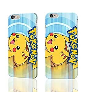 "Pokemon XV Anniversary Pikachu Charzard 3D Rough iphone Plus 6 -5.5 inches Case Skin, fashion design image custom iPhone 6 Plus - 5.5 inches , durable iphone 6 hard 3D case cover for iphone 6 (5.5""), Case New Design By Codystore"