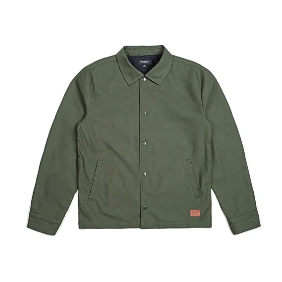 d855c18d356 Amazon | (ブリクストン) BRIXTON WRIGHT JACKET FOREST GREEN [S ...