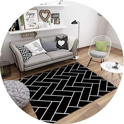 (Geometric Marble Pattern Carpet Living Room Rug Sofa Coffee Table Mat Bedroom Yoga Pad Rectangular Bedside Blanket,I,1000MMx1600MM)