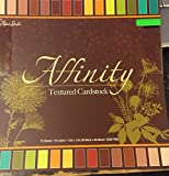 Affinity Textured Solid Cardstock Double-sided 12x12 Inches, 75 Sheets