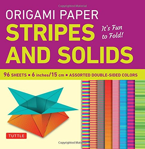 Origami Paper - Stripes and Solids 6